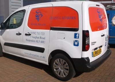 Van Graphics with Reflective Vinyls, Harpenden