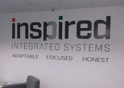 Internal Wall Graphics, Welwyn Garden City, Herts