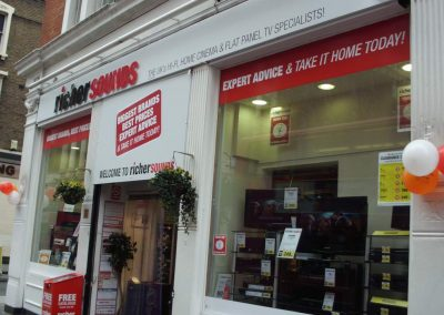 Fret Cut Perspex and Vinyl lettering, Watford, Herts