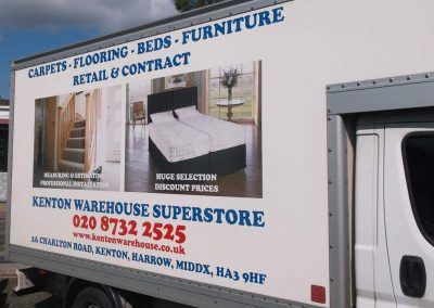 Luton Van Digital Prints and Cut Vinyls, Kenton London