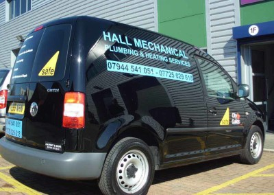 Van Signwritten, Potters Bar