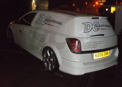 Van Signwritten with Tinted Logo, Stevenage