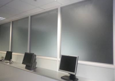 Internal Frosted Sheeted Glass, Stevenage