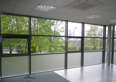 Etch Films Office Windows, Potters Bar