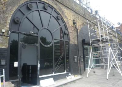 Dark Smoke Tinted Windows, BlackFriars London