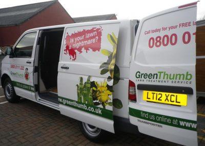 Partwrapped Vans, Hatfield Branch