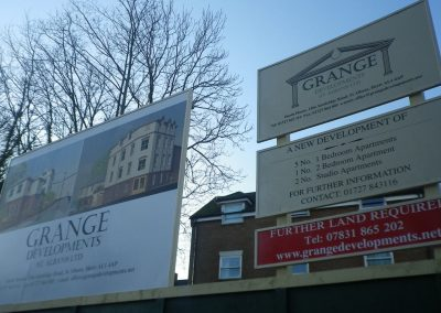 Site Hoarding Signage, St Albans, Herts