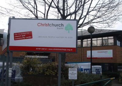 Posted and Building Fascia Signage, Welwyn Garden City, Herts